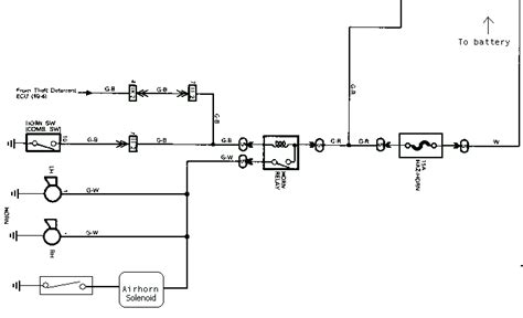 boat horn installation air horn wiring schematic air free engine image for user