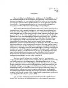 Argumentative Essay On Gun by Gun Argumentative Essay
