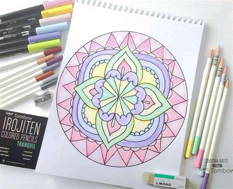 Coloring Pencil Set coloring with irojiten colored pencil sets tombow