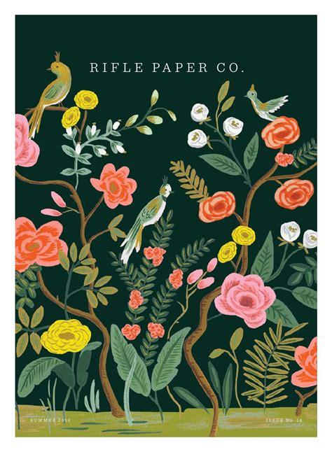rifle paper company wallpaper rifle paper company summer 2016 catalog by daniel richards
