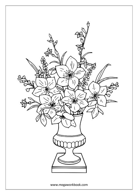 coloring pages trees plants and flowers free coloring sheets trees plants and flowers