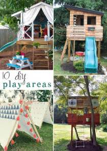 10 diy outdoor playsets tag amp tibby
