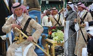 How To Make Money Online In Saudi Arabia - prince charles stars in saudi arabian dance of swords daily mail online