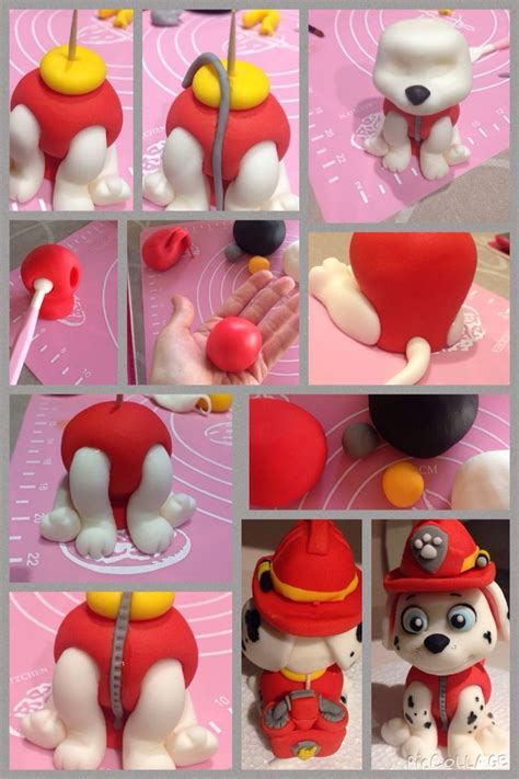 Aa Figure Paw Patrol Isi 4 paw patrol figure tutorial cake tutorials