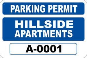 parking permit rectangle 4