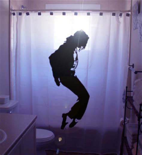 Jackson Shower dangerous to moonwalk in the shower with a michael jackson