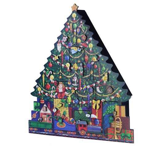 Inexpensive Advent Calendar Gifts Byers Choice Tree Advent Calendar