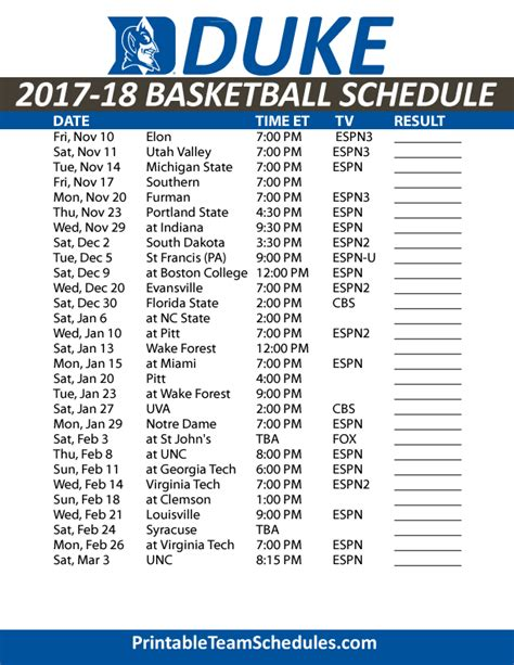 printable unc basketball schedule acc basketball scores and standings basketball scores