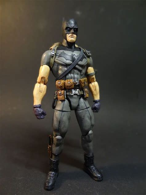 Mainan Figure Batman Zero Years batman zero year batman custom figure custom