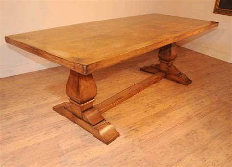 table a diner oak farmhouse refectory table kitchen dining tables rustic