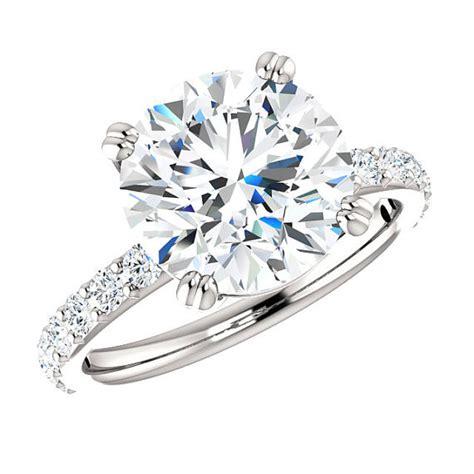Wedding Ring Designers Los Angeles by Moissanite Rings Los Angeles San Diego Vegas Jewelry