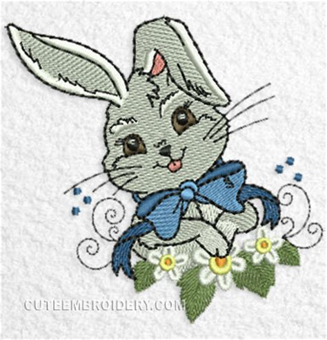 embroidery design rabbit free embroidery designs cute embroidery designs