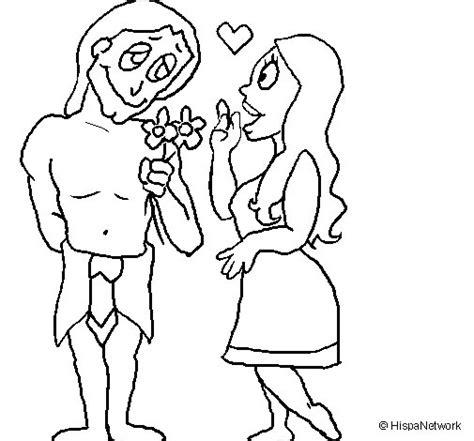 imagenes para colorear jovenes dibujo de j 243 venes mayas enamorados para colorear dibujos net