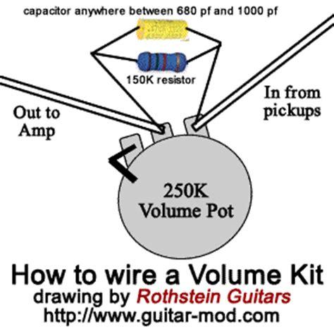 high pass filter volume pot understanding the treble bleed mod guitar mod ology