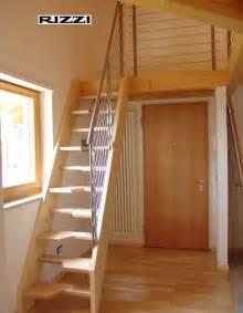 scale a ra per interni scale a giorno in legno
