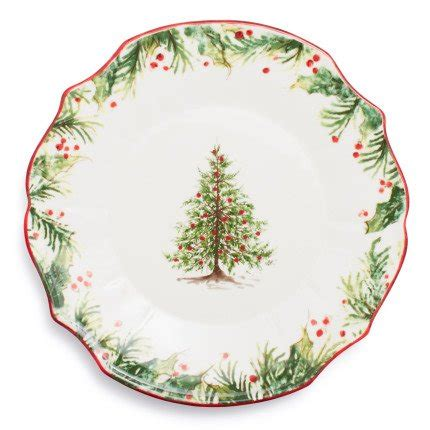 holly and pine dinnerware by sur la