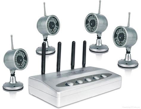 wireless 4 cctv dvr security surveillance system