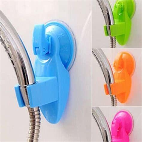 gantungan hanger suction high quality suction cup bathroom shower holder hanger