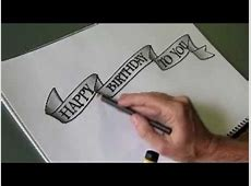 How to draw an easy 'flowing ribbon' shape for your ... Easy Drawings Of Hearts With Ribbons