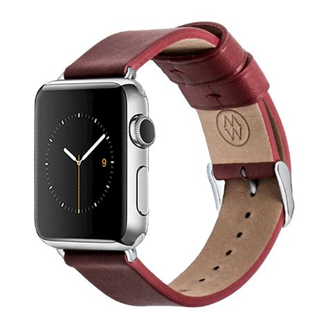 Apple Genuine Leather 42mm38mm Band By X Doria Coklat 38mm leather or suede band mate ongoing 38mm apple