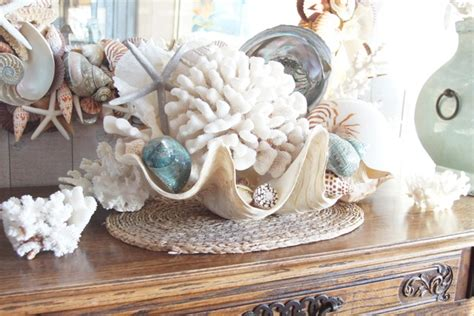 Decorating With Seashells by Sue Murphy Designs As A House Decorating With Sea