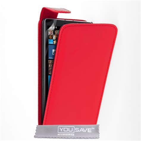 Flip Nokia Lumia 930 yousave accessories nokia lumia 930 leather effect flip