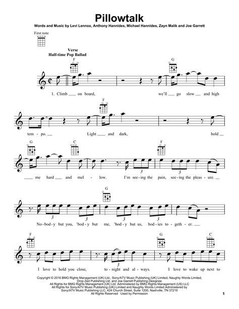pillow talk ukulele tutorial zayn pillowtalk by zayn ukulele guitar instructor