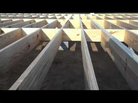 how to frame a floor building a house floor and walls youtube