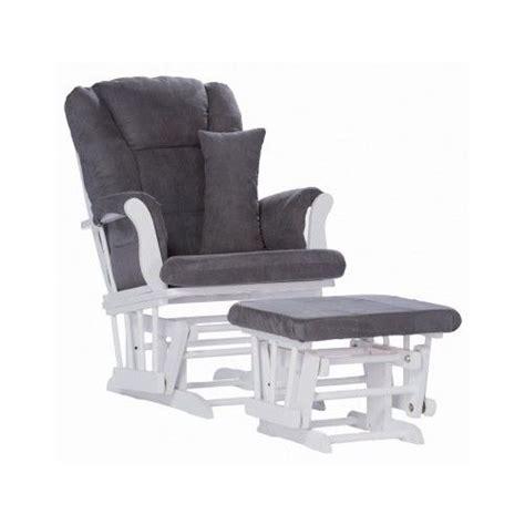 Baby Rocker Glider Ottoman Chair Nursery Rocking Furniture White Glider Rocking Nursery Chair