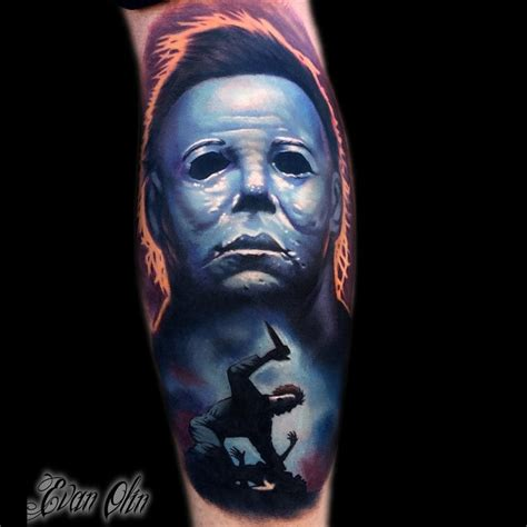 michael myers halloween best tattoo design ideas