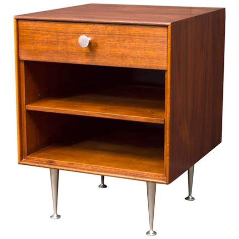 Thin Nightstand George Nelson Thin Edge Nightstand For Sale At 1stdibs