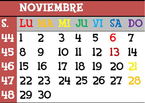 Calendario De Noviembre Todo Animalcrossingww Calendario De Eventos