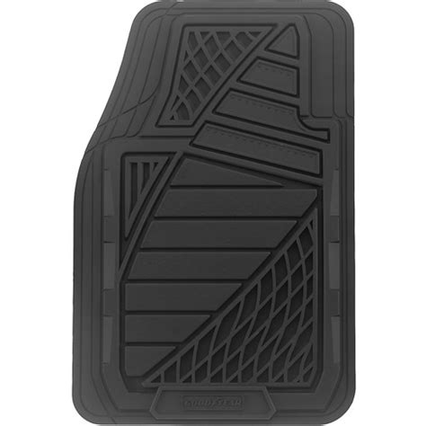 goodyear 4pc premium rubber floor mats walmart