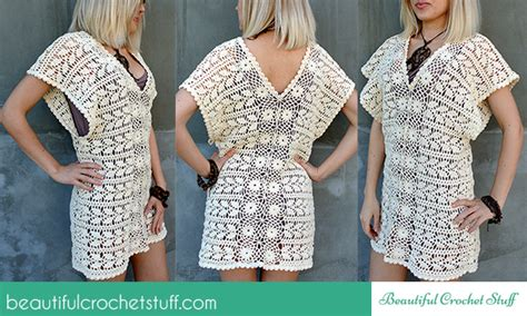 Talla Tunik crochet leaf tunic free crochet pattern