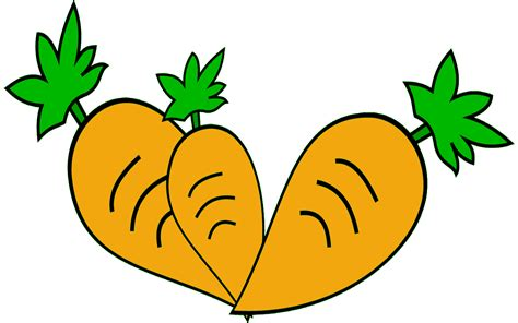 clipart gambar animasi wortel wwwbuahazcom