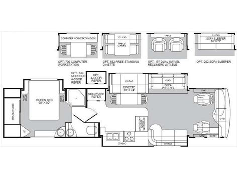 fleetwood rv floor plans 2004 fleetwood rv floor plans