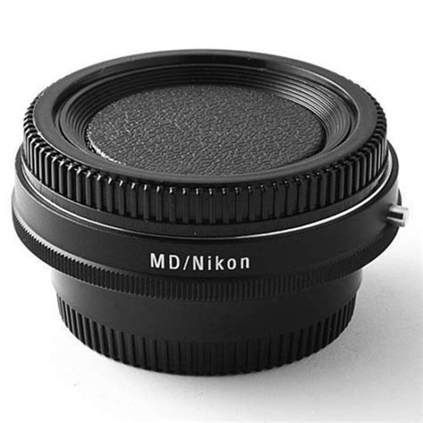 Adapter Minolta Md To Nikon With Glass lens adapter with optical glass infinity focus for