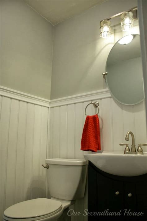 powder room makeovers powder room makeover home bathroom pinterest