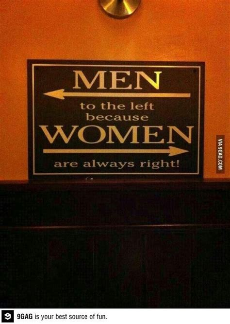 novelty bathroom signs funny for women only men to the left women are