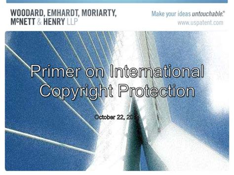 International Copyright Protection international copyright protection primer