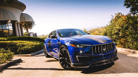 maserati levante wallpaper 2018 maserati levante shtorm by larte design 4k wallpaper