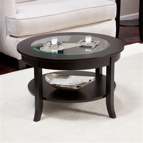 Small Round Pine Coffee Table Round Coffee Tables Wayfair Small Glass Top Coffee Table