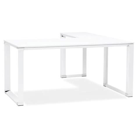 bureau d angle design blanc bureau d angle design quot hovik quot bois blanc