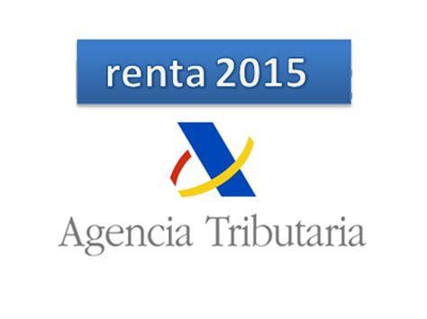 vencimientos declaraciones de renta 2016 declaraci 243 n de la renta 2015 plazos y novedades sanper