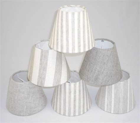 candle l with shade candle lshades handmade in uk linen fabric ebay