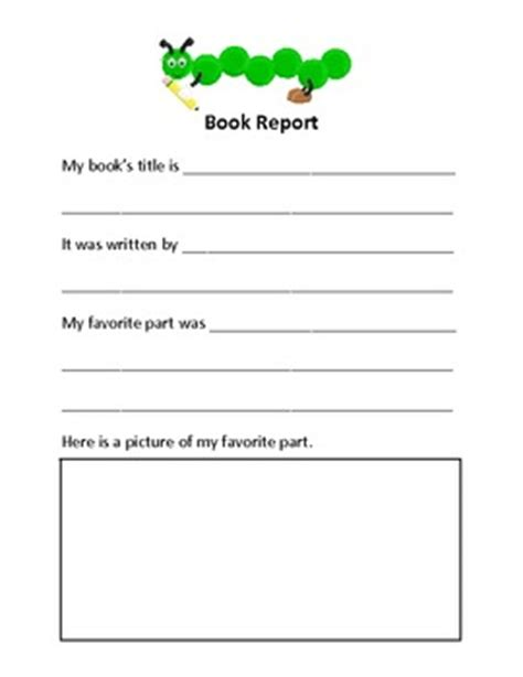 sle of book report for elementary elementary book report criteria dissertationappendix web