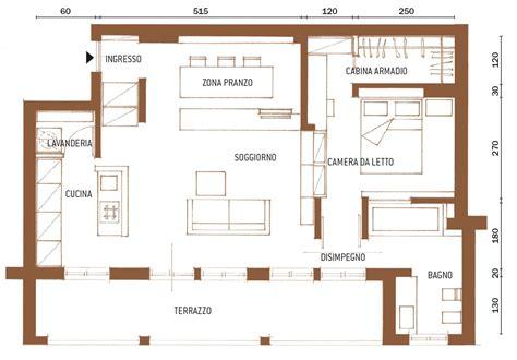 progetto appartamento 65 mq una casa di 65 mq con volumi funzionali e originali quinte