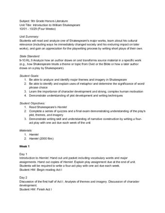 interdisciplinary unit plan template image collections