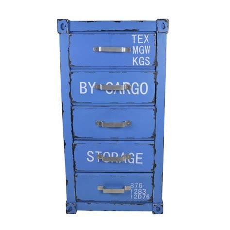 kleiderschrank container schubladenschrank blau 5 laden container kleiderschrank