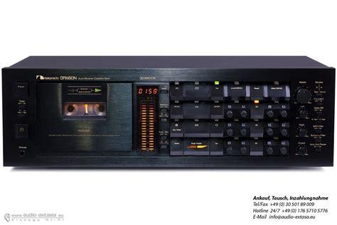 nakamichi cassette nakamichi cassette deck i still want one hifi